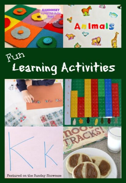 Fun ways to get kids learning when they think they are just having a good time.