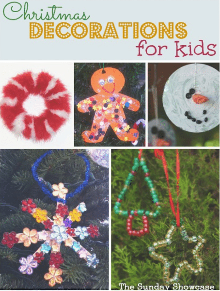 10 Christmas Decorations for kids