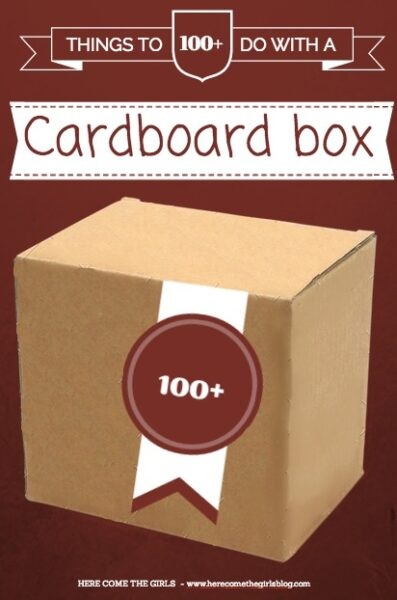 100+ Ways to use a Cardboard Box