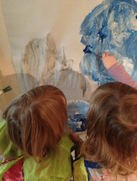 twins painting