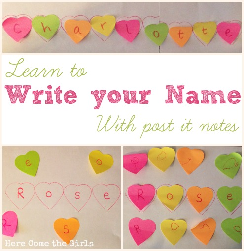 Learn to Write Your Name