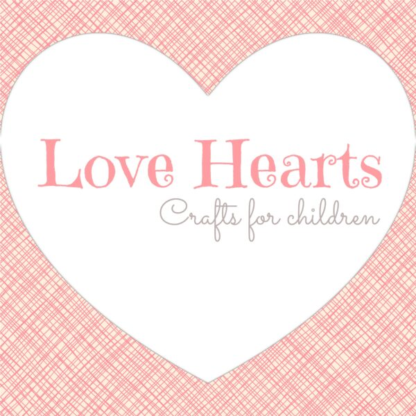 love heart crafts for kids