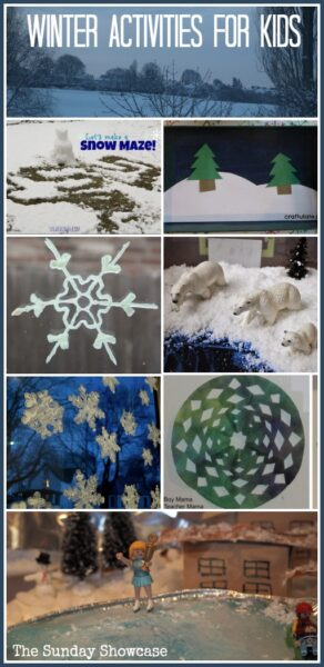 Fun Winter activities for whether you are snowed in or just dreaming of snow.