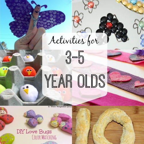 Activities for 3-5 Year Olds