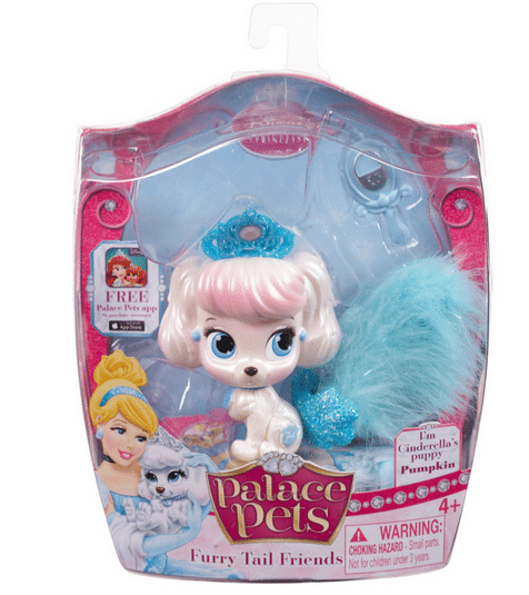 Disney Princess Palace Pets Furry Tail Friends - Pumpkin