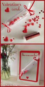 A cute valentine's card.