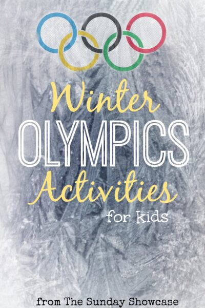 Winter olympics Activities for Kids