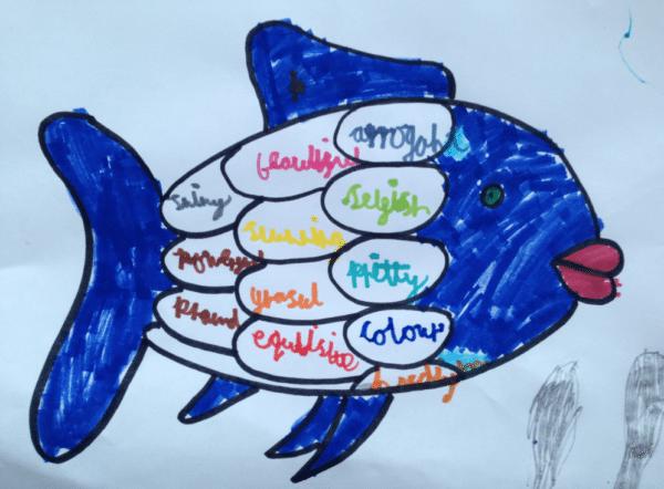 Rainbow Fish Activities Rainbow Fish Adjectives