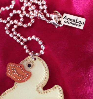 Miss Anna Gold rubber duck