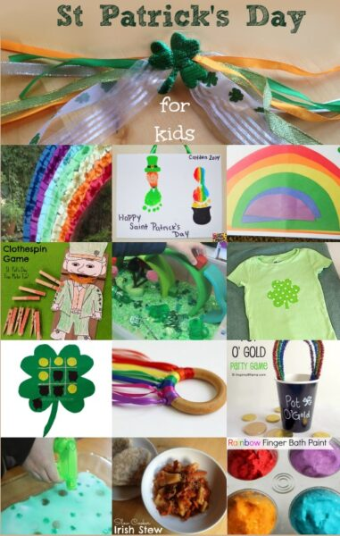 Fun and colourful St Patrick's Day Activities for kids