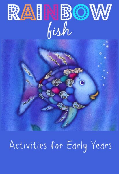 The rainbow fish activities for early years here come for The rainbow fish