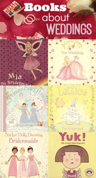 Picture Books about weddings for Children