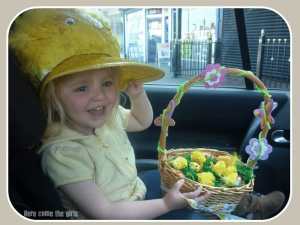 easter chick bonnet