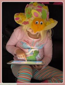 Easter bonnet for kindergarten