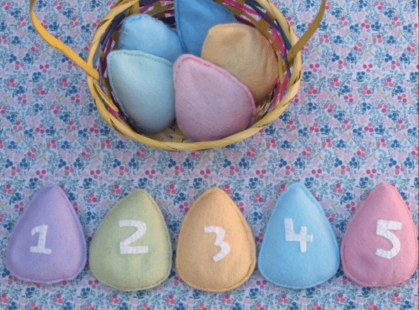 Easter Egg Bean Bags