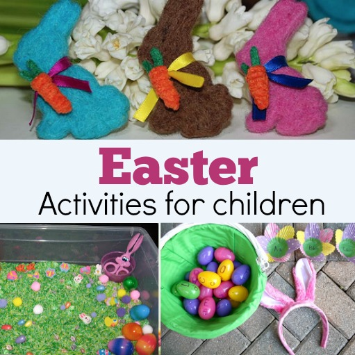 easter activities for children Collage