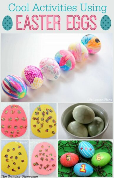 Cool easter egg activities for kids