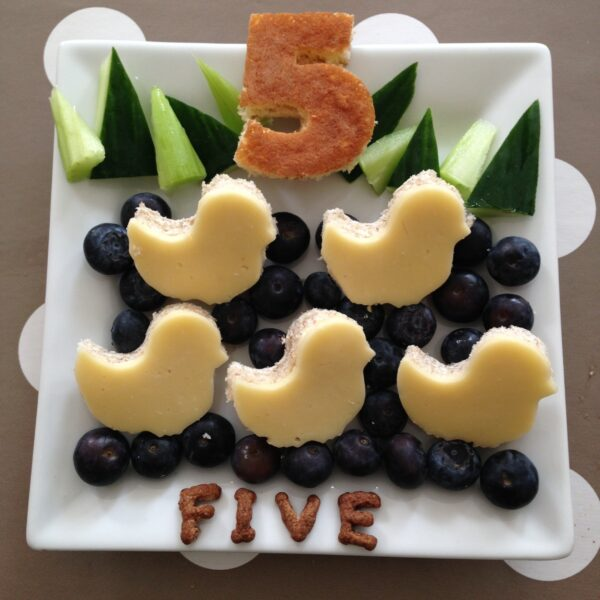 Number Themed Bento Lunches