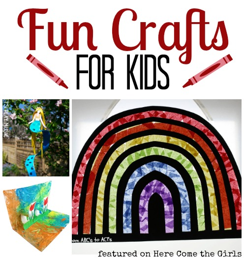 Fun crafts for kids - easy handmade ideas kids will love
