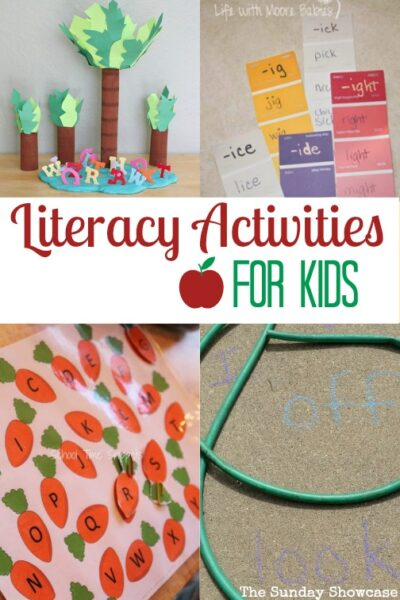 Lots of great activities for learning literacy. ideal for kids aged 5-7