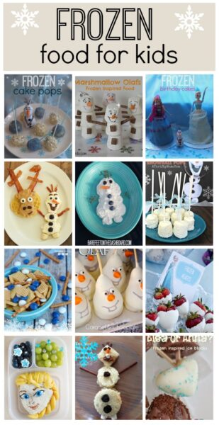 Frozen recipes: Great ideas fro parties or just for meal times