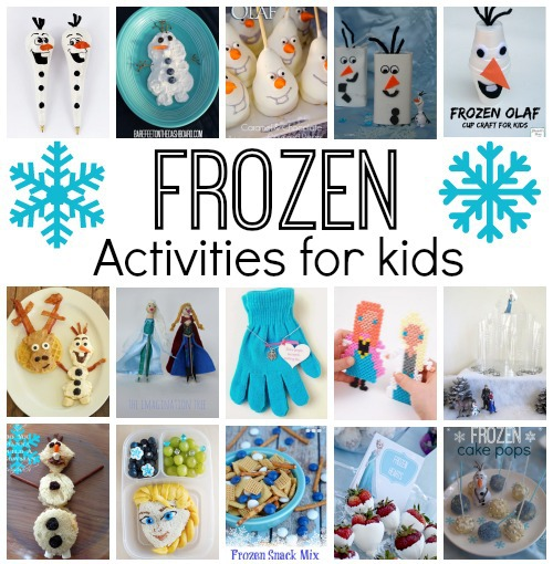 Disney Frozen Crafts and Activities