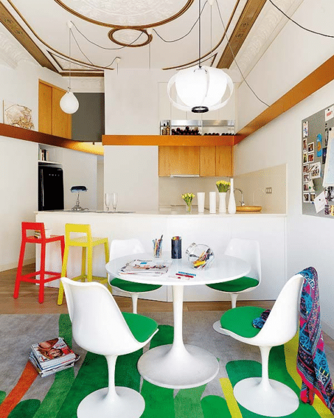 Colourful Barcelona Apartment