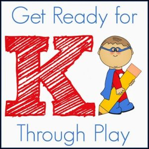 Get Ready for K Through Play button