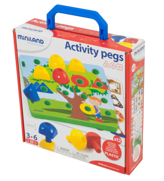 Miniland Activity Pegs Review