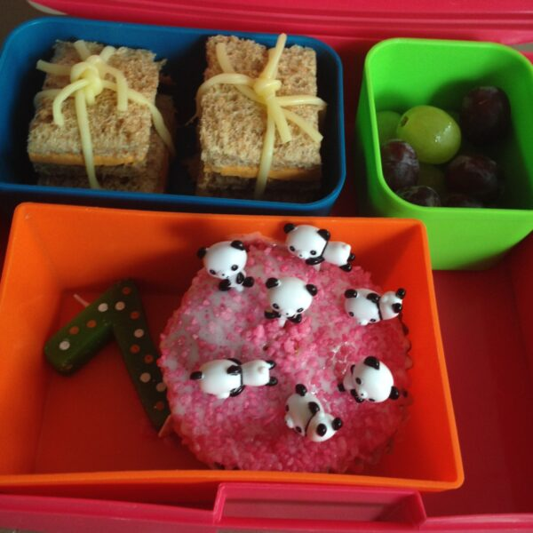 birthday themed lunch box
