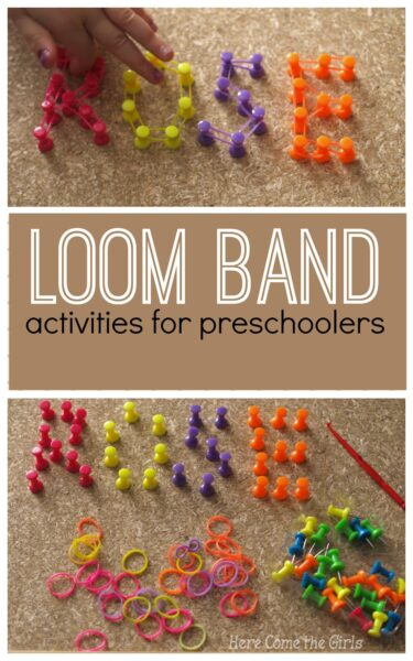 alternative loom band ideas