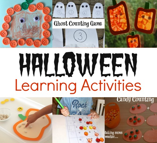 Halloween Learning Activities