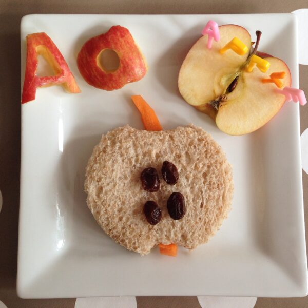 Alphabet Themed Lunches A-C