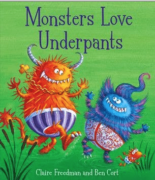 Monsters Love Underpants Review and Giveaway