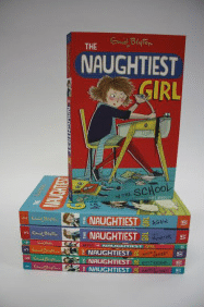 Win a set of The Naughtiest Girl In School by Enid Blyton