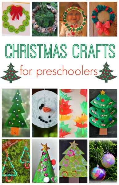 101 christmas crafts for kids here come the girls for Free christmas crafts for kids