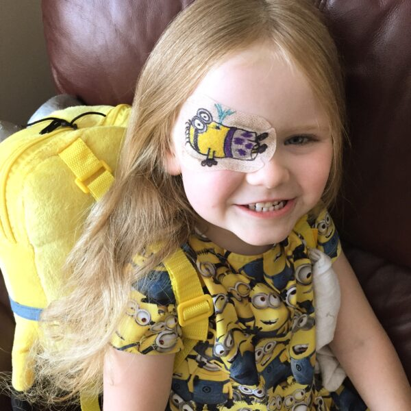 Minion eye patch