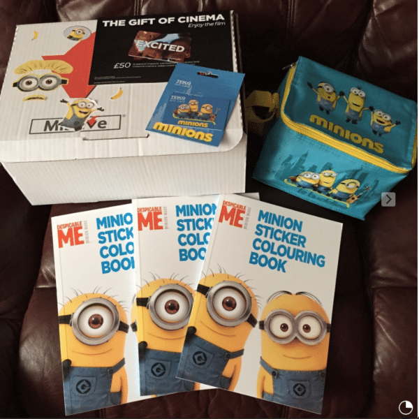 Minions Movie Pack with Frubes