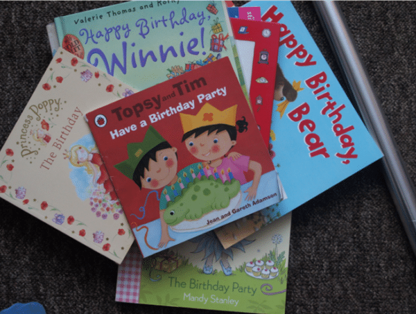 Birthday Books Countdown