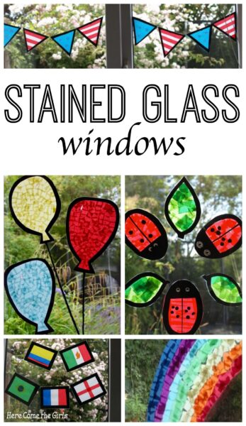 Stained Glass Window Decorations Here Come The Girls