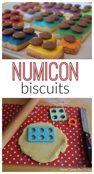 Numicon Biscuits Here Come The Girls