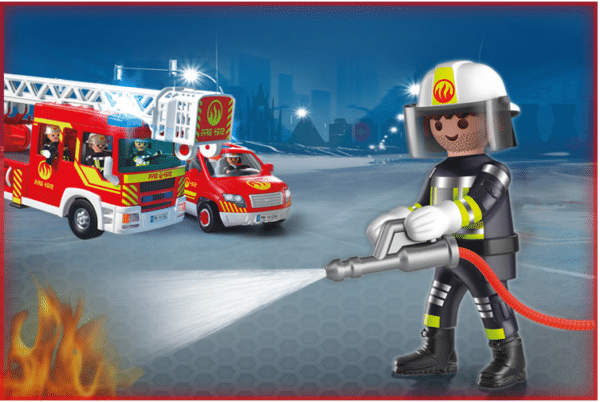 WIN a PLAYMOBIL Special Forces Firefighter