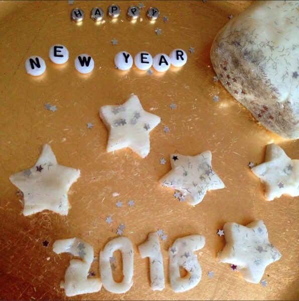 New Year Playdough
