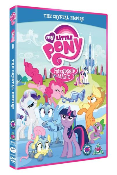 Win My Little Pony The Crystal Empire DVD