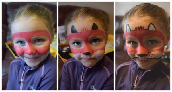 facepaint stages