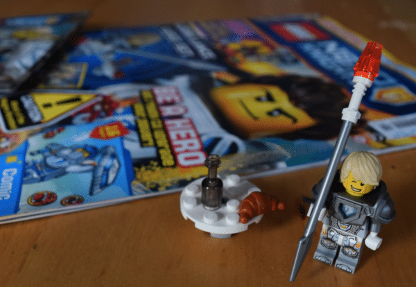 Lego Nexo Knight Magazine Launched today