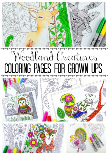 woodland-creatures-coloring-pages