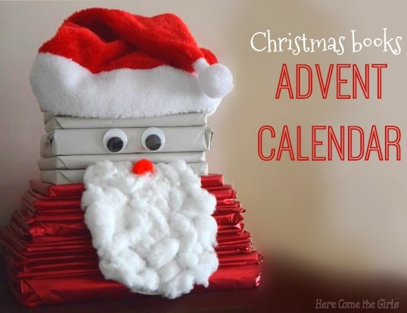 Christmas books advent calendar