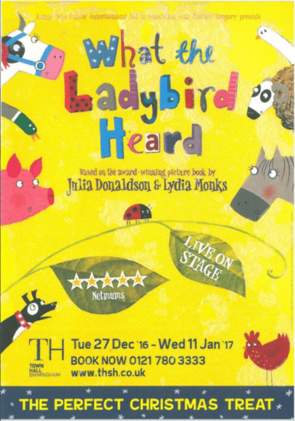 What the Ladybird Heard Theatre Show
