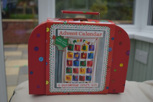 Buttonbag Advent Calendar Craft Kit